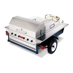 Crown Verity - TG-1 - 48 in Towable Charbroiler With 2 Compartments image