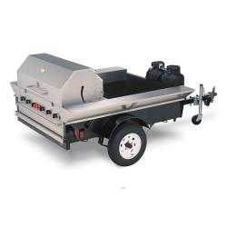 Crown Verity - TG-2 - 48 in Towable Outdoor Charbroiler image