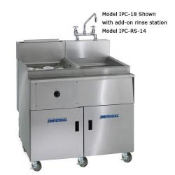 Imperial - IPC-RS-18 - 16 Gallon Pasta Rinse Station image
