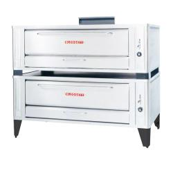 Blodgett - 1060 Double - 60 in Natural Gas Double Deck Pizza Oven image