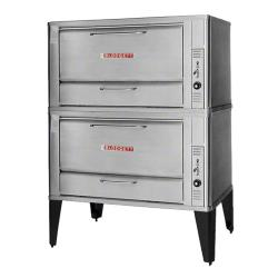 Blodgett - 966 Double - 60 x 40 in Gas Double Deck Oven - 16 1/4 in High Bake Compartment image