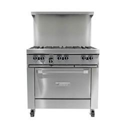 Garland - G36-6R  - 36 in G Starfire Pro Series 6 Burner Gas Range image
