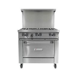 Garland - U36-6R  - 36 in U Series 6 Burner Gas Range image