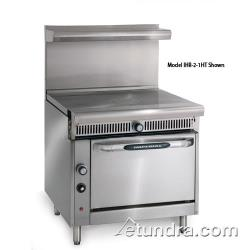 "Imperial - IHR-1FT-C - Diamond Series 36"" French Top w/ Convection Oven image"