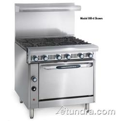 "Imperial - IHR-6 - Diamond Series 36"" Range w/ 6 Burners & Standard Oven image"