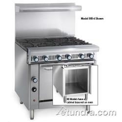"Imperial - IHR-6-XB - Diamond Series 36"" Range w/ 6 Burners & Storage Base image"