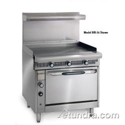 "Imperial - IHR-G36-C - Diamond Series 36""Griddle- Manual w/ Convection Oven image"