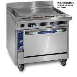 Imperial - IHR-PL36-C - 36 in Diamond Series Gas Range w/ Plancha Griddle and Convection Oven image