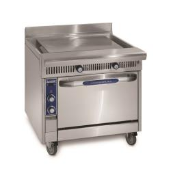 Imperial - IHR-PL36-XB - 36 in Diamond Series Gas Range w/ Plancha Griddle and Cabinet Base image