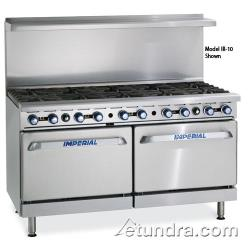 "Imperial - IR-10-CC - 60"" Range w/ 10 Burners & 2 Convection Ovens image"