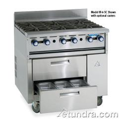 "Imperial - IR-36ABR-SC - 36"" Sizzle 'N Chill w/ Charbroiler Top image"