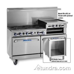 Imperial - IR-6-RG24-XB - 60 in Range w/ 6 Burners, Griddle, Standard Oven image