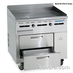 "Imperial - IR-GT36-SC - 36"" Sizzle 'N Chill w/ Griddle Top image"