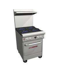 Southbend - 4241E - 400 Series 24 in Restaurant Range with 4 Burners & Standard Oven image