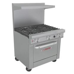 Southbend - 4361D - 400 Series 36 in Restaurant Range with 6 Burners & Standard Oven image