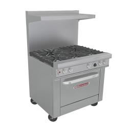 Southbend - 4365D - 400 Series 36 in Ultimate Range with 5 Burners and Standard Oven image