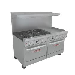 Southbend - 4601DD-2GR - 400 Series 60 in Range w/ 6 Burners, Griddle & Ovens image