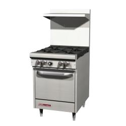 Southbend - S24E - S-Series 24 in  Range with 4 Burners and Standard Oven image