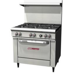 Southbend - S36D - 36 in 6-Burner S-Series Gas Range w/ Standard Oven image