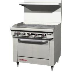 Southbend - S36D-3G - S-Series 36 in Manual Griddle and Standard Oven image