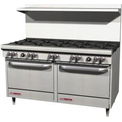 Southbend - S60DD - 300 Series 60 in Restaurant Range with 10 Burners and Standard Ovens image