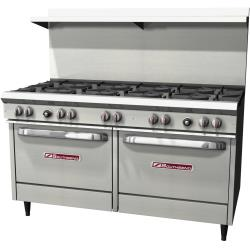 Southbend - S60DD - 300 Series 60 in  Range with 10 Burners and Standard Ovens image