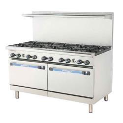 Turbo Air - TAR-10 - 60 in Restaurant Range w/ 10 Burners & Standard Oven image