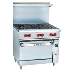 Wolf - C36C-6B - 36 in 6-Burner Challenger XL Gas Range w/ Convenction Oven image