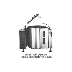 Crown Steam - GLT-20 - 48 in 20 Gallon Gas Floor Steam Kettle image