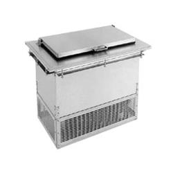 Glastender - DI-FR36 - 2-Section Drop-in Ice Cream Freezer image