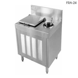 "Glastender - FRB-24 - 24"" x 24"" Underbar Ice Cream Freezer image"