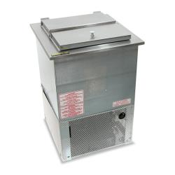 Silver King - SKEDI18-IL-1-BA1 - Single Lid Drop-In Ice Cream Freezer image