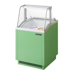 Turbo Air - TIDC-26G - 26 in Green Ice Cream Dipping Cabinet image