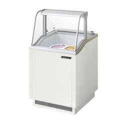 Turbo Air - TIDC-26W - 26 in White Ice Cream Dipping Cabinet image