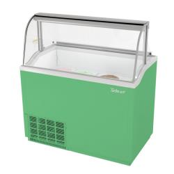 Turbo Air - TIDC-47G-N - 47 in Green Ice Cream Dipping Cabinet image