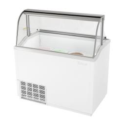 Turbo Air - TIDC-47W-N - 47 in White Ice Cream Dipping Cabinet image