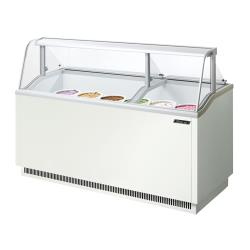 Turbo Air - TIDC-70W - 70 in White Ice Cream Dipping Cabinet image