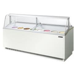 Turbo Air - TIDC-91W-N - 89 in White Ice Cream Dipping Cabinet image