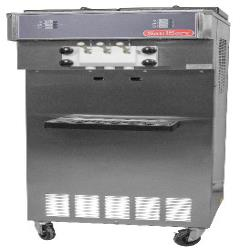 SaniServ - 521 - Floor Model High Volume 34 Qt Twist Soft Serve Machine image