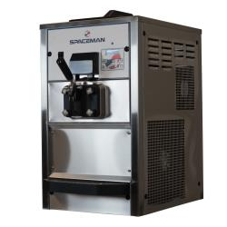 Spaceman - 6228AH - Countertop Medium Volume Single Flavor Soft Serve Machine with Hopper Agitator and Air Pump image