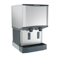 Scotsman - HID525AW-1 - 500 lb Meridian™  Wall Mount Ice Maker with Dispenser image