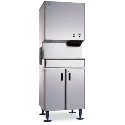 Hoshizaki - DCM-500BWH-OS - Opti-Serve™ Water Cooled 567 Lb Cubelet Ice Maker/Dispenser image