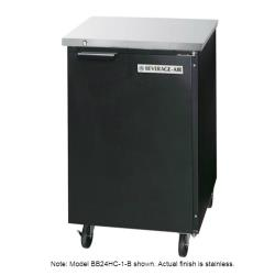 Beverage Air - BB24HC-1-S - 24 in S/S Back Bar Refrigerator image