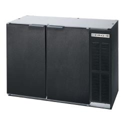 Beverage Air - BB48HC-1-B - 48 in Solid Door Back Bar Cooler image