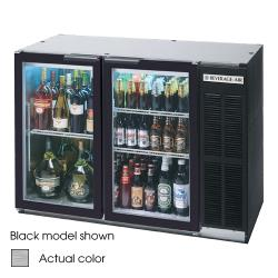 Beverage Air - BB48HC-1-G-S-27 - 49 in Glass Door Back Bar Cooler w/ S/S Top image
