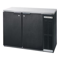 Beverage Air - BB48Y-1-B-27 - 48 in Solid Door Back Bar Cooler with Stainless Steel Top image