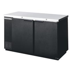 Beverage Air - BB58HC-1-B - 59 in Black Solid Door Back Bar Cooler image