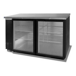 Beverage Air - BB58HC-1-G-B - 59 in Black Glass Door Back Bar Cooler image