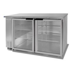 Beverage Air - BB58HC-1-G-S - 59 in S/S Glass Door Back Bar Cooler image