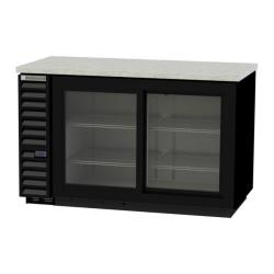 Beverage Air - BB58HC-1-GS-B - 59 in Black Glass Door Back Bar Cooler image